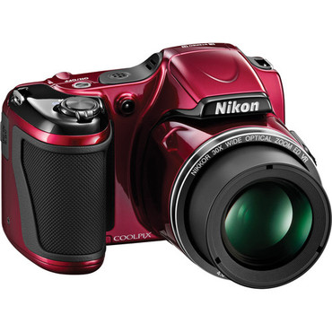 COOLPIX L820 Red W/Case &2 Year Ext Warranty