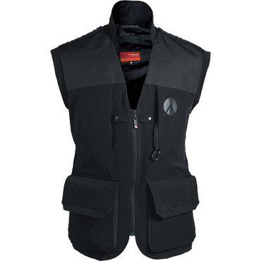 MA LPV050M-XLBB Lino Pro Photo Vest -Blk-Med