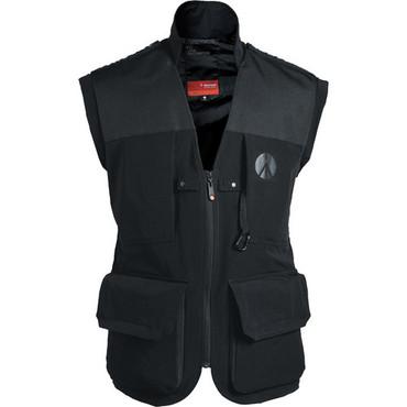 MA LPV050M-SBB Lino Pro Photo Vest -Blk-Small