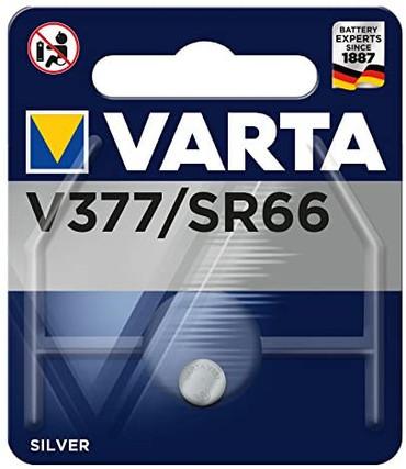 Varta 377 Silver Oxide Watch Batteries SR626SW (1 Battery)