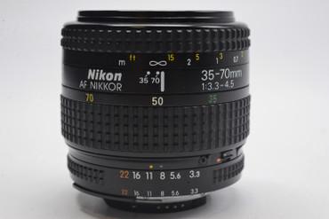 Pre-Owned - Nikon 35-70mm AF Nikkor F/3.3-4.5