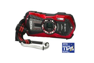 Optio WG-2 Digital Camera (Red)