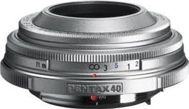 40Mm F/2.8 SMCP-DA Limited Series Lens (Silver)