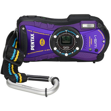 Optio WG-1 Digital Camera (Purple)