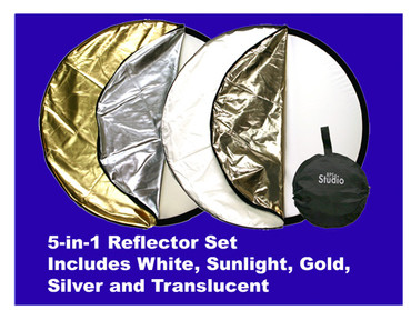 RPS 36X48 5-IN-1 Pop-Out Reflector