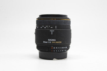 Pre-Owned Sigma 50mm F2.8 DG Macro for Nikon