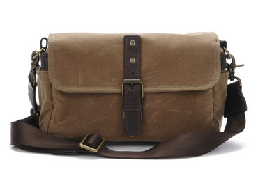 Bowery Shoulder Bag (Field Tan)