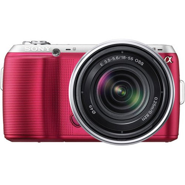 Alpha NEX-C3K/P Digital Camera W/18-55Mm (Pink)