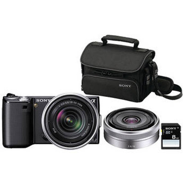 Alpha NEX-5 Photo Specialty Bundle