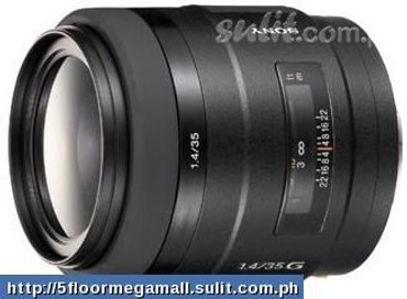 Sony Alpha 35mm f/1.4G Wide Angle Lens