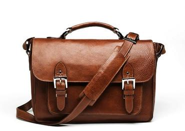 The Brooklyn Shoulder Bag (Chestnut)