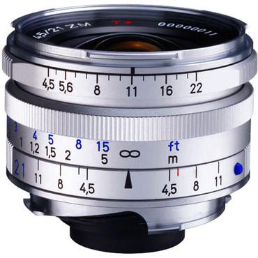21Mm F/4.5 C Biogon T* ZM Silver F/Zeiss&Leica