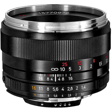Zeiss Planar T* 50mm F/1.4 ZF-2  Lens For Nikon