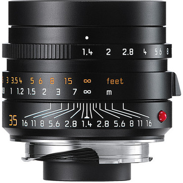 Leica Summilux-M 35mm f/1.4 ASPH. Lens (Black)