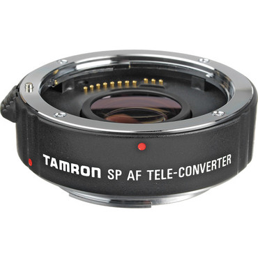 Tamron 1.4x SP AF Pro Teleconverter for Canon EOS - For Telephoto Lenses 90mm & Longer with Maximum Apertures of f/2.8 or Larger