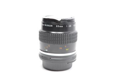 Pre-Owned - Nikon 55mm F2.8 Micro AIS