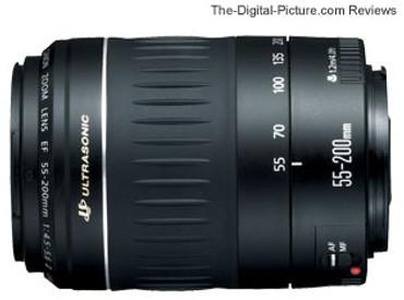 Canon EF 55-200Mm F/5-5.6 II USM