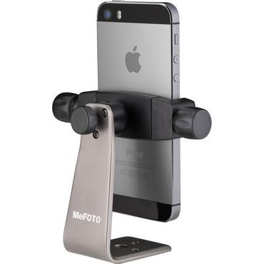 Mefoto MPH100T Mobile Phone Holder-Titanium