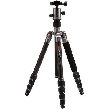 C1350Q1T RoadTrip Carbon Fiber Tripod Kit -Titanium