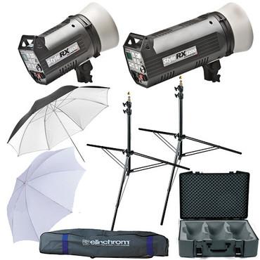 Elinchrom - EL20746 Style 600/1200RX 2 Flash  Kit,