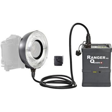Ranger Quadra Ready-To-Go Battery' Ringflash Set,