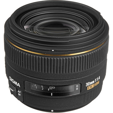 Sigma 30Mm F1.4  For Nikon DC HSM