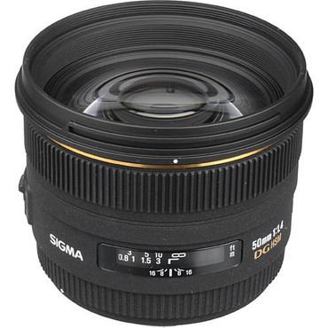 Sigma 50mm F1.4 EX DG HSM For Pentax