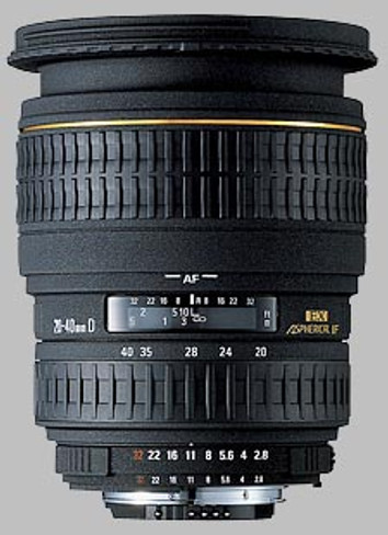 Sigma 20-40 F2.8 DG for Canon EF