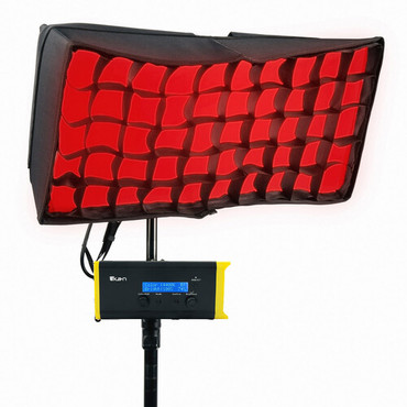 ikan Canvas Full-Color Bendable LED Panel with RGBWA Color Control