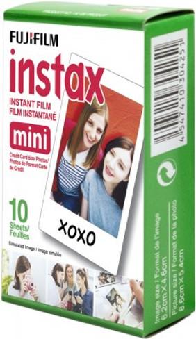 FujiFilm Instax Mini Instant Film (White Border) (Single Pack) (10 Exposures)