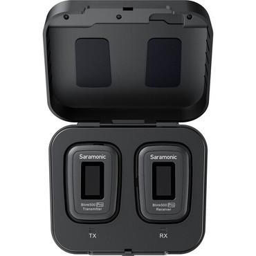 Saramonic Blink 500 Pro B1 Digital Camera-Mount Wireless Omni Lavalier Microphone System (2.4 GHz, Black)