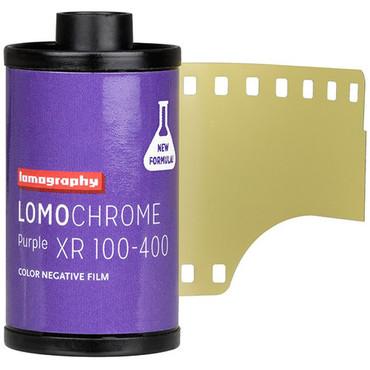 Lomography LomoChrome Purple XR 100-400 Color Negative Film (35mm Roll Film, 36 Exposures)