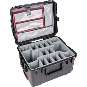 SKB iSeries 2217-12 Case with Think Tank Photo Dividers & Lid Organizer (Black)