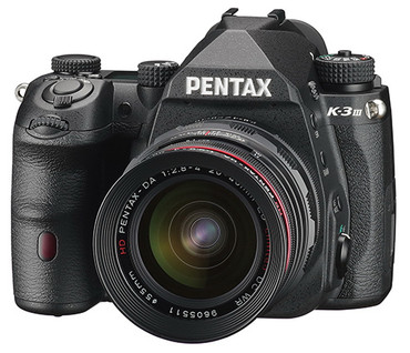 Pentax K-3 Mark III APS-C-Format DSLR Camera Body, Black
