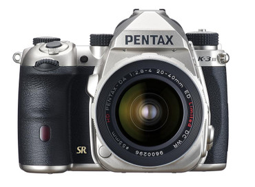 Pentax K-3 Mark III APS-C-Format DSLR Camera Body, Silver