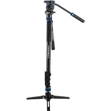 Benro #2 MCT28AF Monopod with Flip Locks, 3-Leg Base, and S2 Video Head