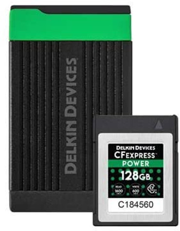 DELKIN CFexpress Type B Card and Reader Bundle (64GB)