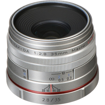 HD Pentax DA 35mm f/2.8 Macro Limited Lens (Silver)