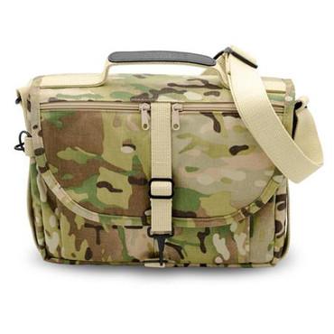 Domke F-803 Camera Satchel Bag, Ruggedwear Canvas, Camouflage