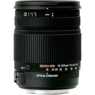18-250Mm F3.5-6.3 OS Canon