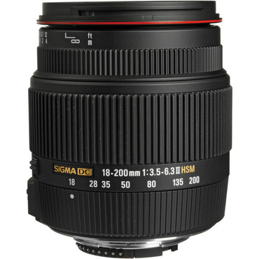 18-200mm f/3.5-6.3 II DC OS HSM For Canon