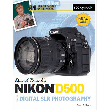 David D. Busch Nikon D500 Guide to Digital SLR Photography