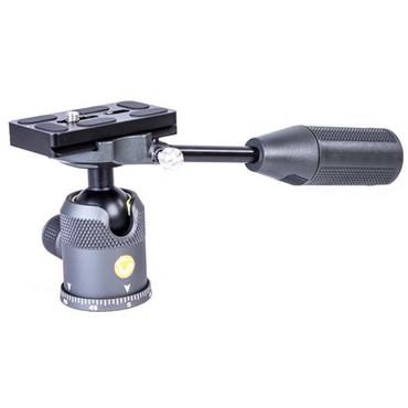 Vanguard VEO 2 BP 2-in-1 Aluminum Alloy Ball/Pan Head, 8.8 lbs Capacity, Dark Gray