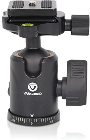 Vanguard VEO TBH-50 Aluminum Alloy Ball Head for Travel Tripods and Monopods, 13lbs Capacity