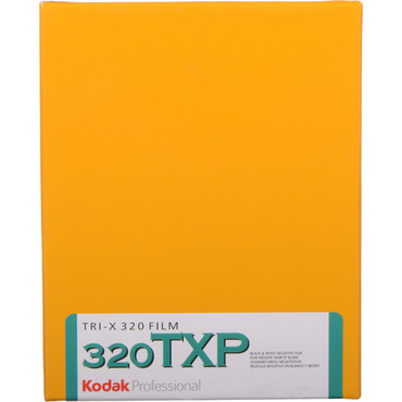 "Kodak Professional Tri-X 320 Black and White Negative Film (4 x 5"", 10 Sheets)"