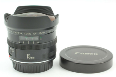 Pre-owned Canon AF 15mm f2.8 Fish-eye Manual focus