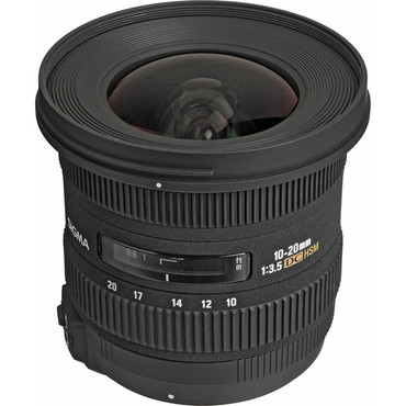 Sigma 10-20mm f/3.5 EX DC HSM For Canon