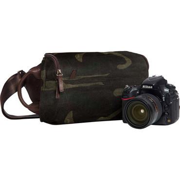 ONA Rockaway Canvas Camera Bag (Camouflage)