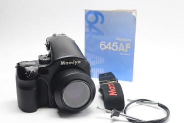 Pre-Owned Mamiya 645AF film camera with 80mm f2.8AF lens , 200 DAY WARRANTY