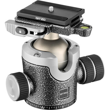 Gitzo GIGH4383LR Series 4 Center Ball Head with Arca-Type Lever Release QR Receiver